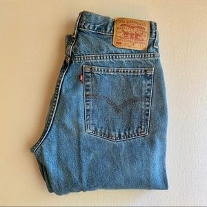 Levi's 505 Vintage Regular Fit Jeans